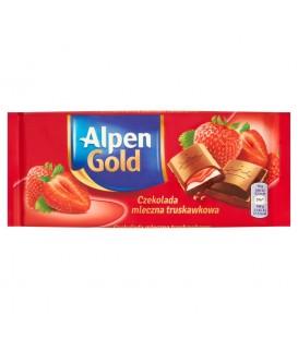 Alpen Gold Truskawkowa 90g