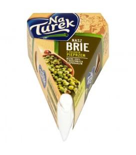 NaTurek Nasz Brie z zielonym pieprzem 125 g