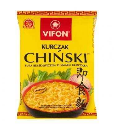 Vifon Kurczak Chiński Zupa błyskawiczna o smaku kurczaka łagodna 70 g