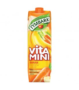 Tymbark Vitamini Banan marchew jabłko sok 1 l karton