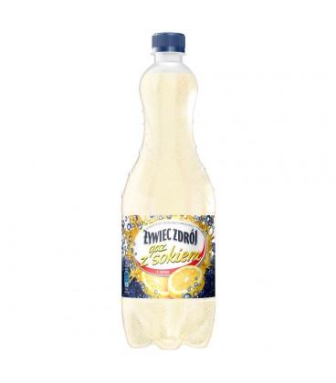 Żywiec Zdrój gaz z sokiem z cytryn Napój gazowany 1 l