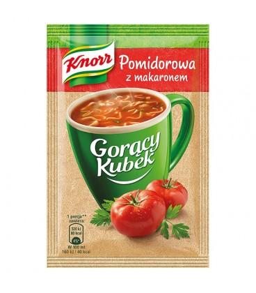 Knorr Gorący Kubek Pomidorowa z makaronem 19 g