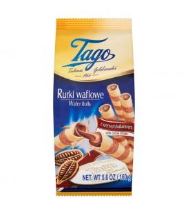 Tago Rurki waflowe z kremem kakaowym 160 g