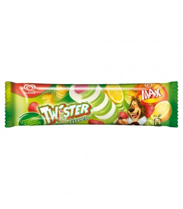 Algida Max Twister Green Lody 80 ml