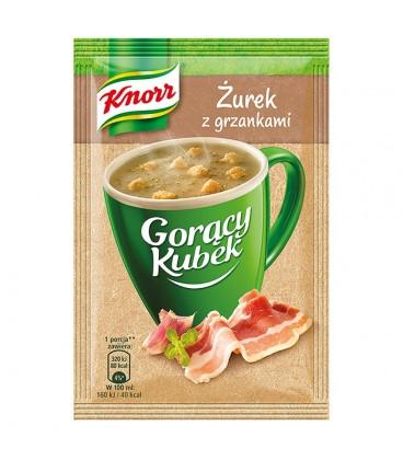 Knorr Gorący Kubek Żurek z grzankami 17 g