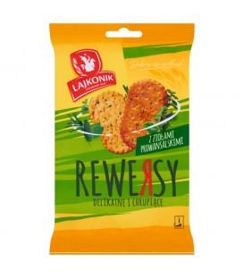 Lajkonik Rewersy z ziołami prowansalskimi Drobne pieczywo 95 g