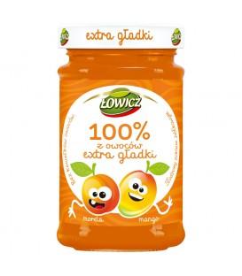 Łowicz 100% z owoców Extra gładki morela mango 235 g