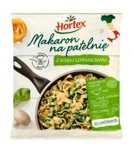 Hortex Makaron na patelnię z sosem szpinakowym 450 g
