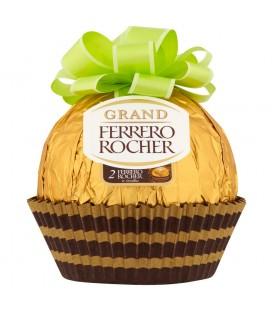 Ferrero Rocher Grand Figurka z mlecznej czekolady z kruszonymi orzechami laskowymi 125 g