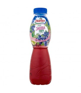 Hortex Jabłko jagoda mięta ogrodowa Napój wieloowocowy 500 ml