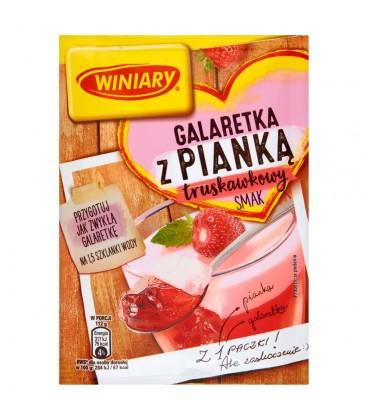 Winiary Galaretka z pianką truskawkowy smak 72 g