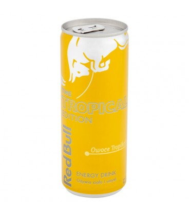 Red Bull Owoce tropikalne Napój energetyczny 250 ml