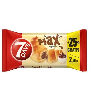 7 Days Max Croissant z nadzieniem kakaowym 110 g