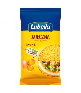 Lubella Jajeczna Makaron Gwiazdki 250 g