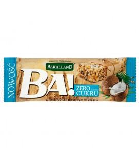 Bakalland Ba! 5 zbóż & kokos z chia Baton zbożowy 30 g