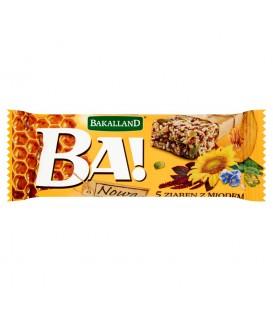 BA! Baton zbożowy 5 ziaren 40g Bakalland