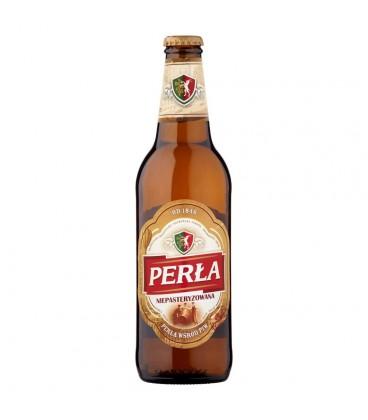 Perła Niepasteryzowana Piwo jasne 500 ml