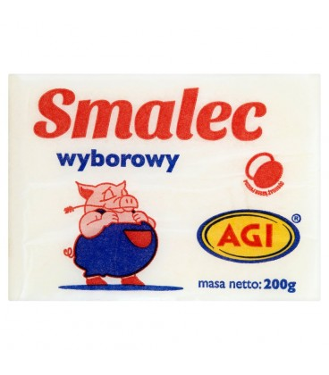 AGI Smalec wyborowy 200 g