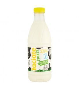 Mleko Łaciate 2% 1L butelka PET