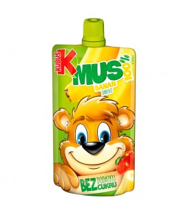 Kubuś Mus 100% banan jabłko marchew 100 g