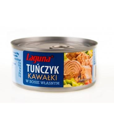 Tuńczyk w kawałkach w sosie własnym 170g