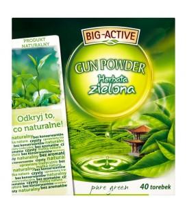 Big-Active Gun Powder Pure Green Herbata zielona 72 g (40 torebek)