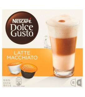 Nescafé Dolce Gusto Latte Macchiato Kawa w kapsułkach 194,4 g (16 sztuk)