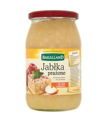 Bakalland Jabłka prażone do ciast i deserów 810 g