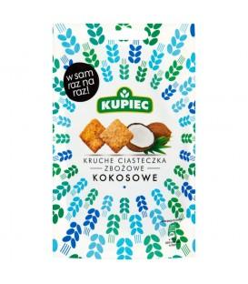 Kupiec Kruche ciasteczka zbożowe kokosowe 50 g