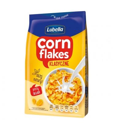 Lubella Corn Flakes Klasyczne Płatki kukurydziane 500 g