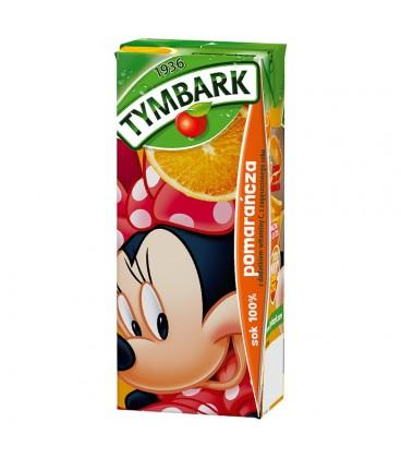Tymbark pomarańcza Sok 100% 200 ml