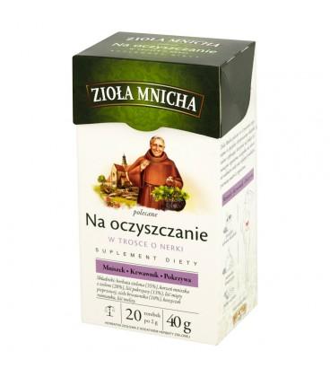 Big-Active Zioła Mnicha Na oczyszczanie Suplement diety Herbatka ziołowa 40 g (20 torebek)
