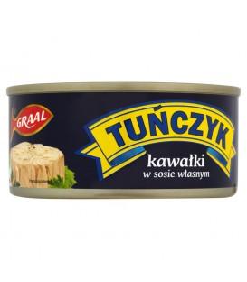 GRAAL Tuńczyk kawałki w sosie własnym 170 g