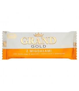 Koral Grand Gold z migdałami Lody waniliowe w mlecznej czekoladzie z migdałami 120 ml