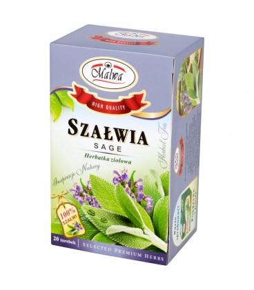 Malwa Szałwia Herbatka ziołowa 20 g (20 torebek)
