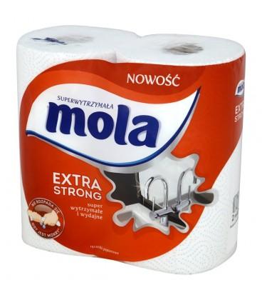 Mola Extra Strong Ręczniki papierowe 2 rolki