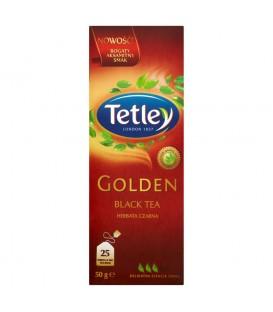 Tetley Golden Herbata czarna 50 g (25 torebek)