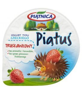 Piątnica Piątuś Jogurt typu greckiego truskawkowy 125 g