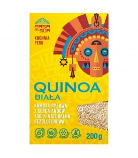 Casa Del Sur Quinoa biała Komosa ryżowa 200 g