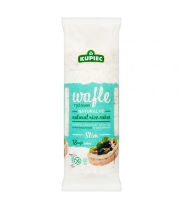 Kupiec Slim Wafle ryżowe naturalne 90 g (18 sztuk)