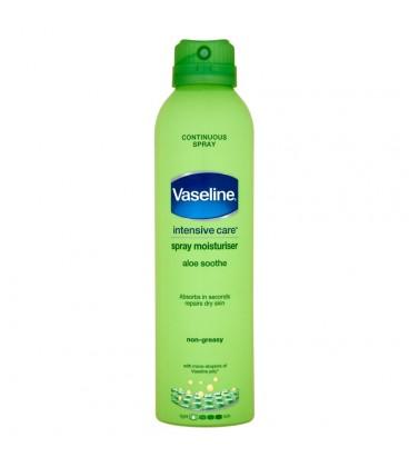 Vaseline Intensive Care Aloe Soothe Balsam do ciała w spray'u 190 ml