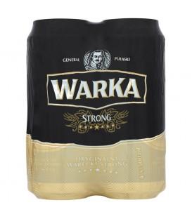 Warka Strong Piwo jasne 4 x 500 ml