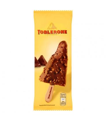 Toblerone Lody kakaowo-miodowe z kawałkami czekolady mlecznej z miodem i nugatem migdałowym 100 ml