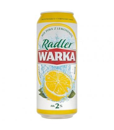 Warka Radler Piwo z lemoniadą cytrusową 500 ml