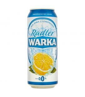 Warka Radler Piwo bezalkoholowe z lemoniadą cytrusową 500 ml