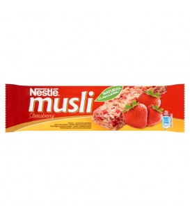 Nestlé Musli Strawberry Batonik zbożowy 35 g