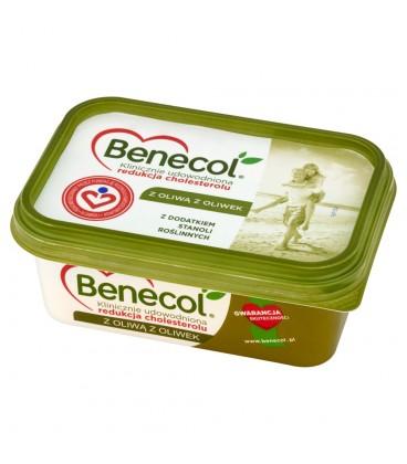 Benecol z oliwą z oliwek Tłuszcz do smarowania z dodatkiem stanoli roślinnych 225 g