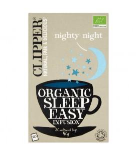 Clipper Herbata ułatwiająca zasypianie organiczna 40 g (20 torebek)