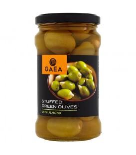 Gaea Zielone oliwki z migdałami 295 g