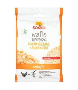 Sonko Fit Wafle superfoods kukurydziane + amarantus 30 g